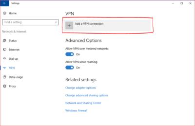 Windows 10 SSTP VPN Manual Setup Tutorial - SOUTH JERSEY TECHIES - BLOG